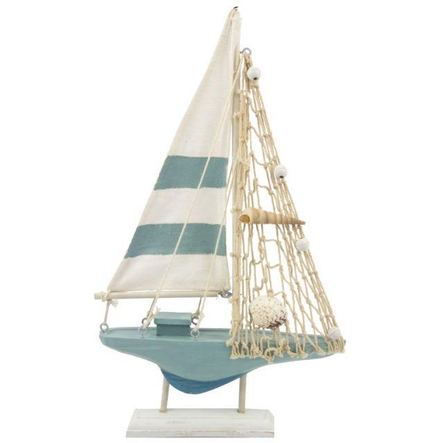 Zeilboot decoratief 18x31cm P.3