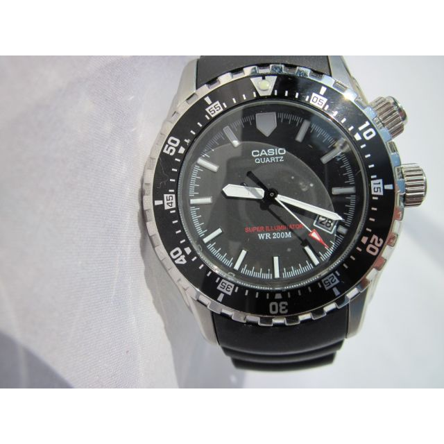 Casio Analoog horloge met kunststof band