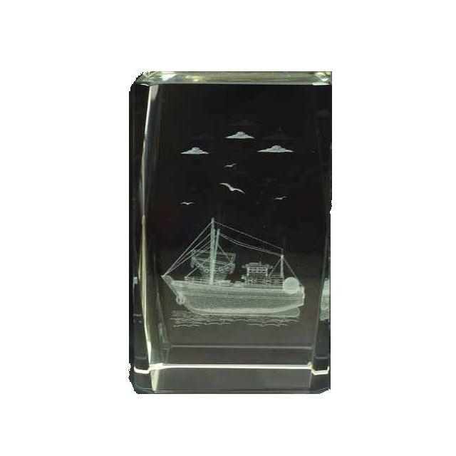 Presse papier vissersboot